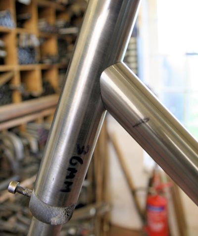 Down tube, meet head tube